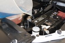 filling wiper fluid reservoir