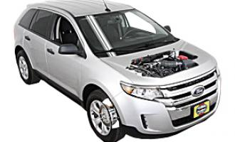 Engine Oil And Filter Change Ford Edge