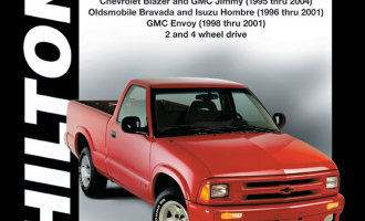General Motors from (1994-04) for of Chevrolet S10 & GMC Sonoma Pick-ups (1994-04), Chevrolet Blazer & GMC Jimmy (1995-04), Olds
