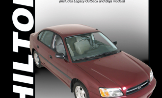 Subaru Legacy & Forester (2000-09) (Does not include information specific to six-cylinder & diesel models) Chilton Repair Manual