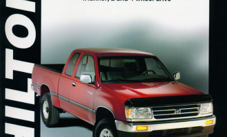 Toyota Pick-up, Tacoma, T100, Land Cruiser & 4Runner for (1989-96) Chilton Repair Manual (USA)