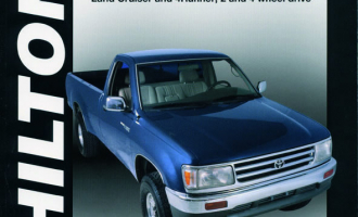Toyota Pick-up, T100, Tacoma, Land Cruiser & 4Runner for (1997-00) Chilton Repair Manual (USA)