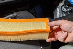 Typical engine air filter