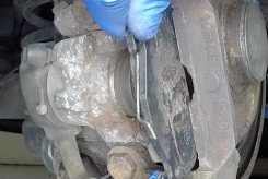 brake pad removal & replacement
