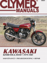 Kawasaki KZ500/550 & ZX550 Motorcycle (1979-1985) Service Repair Manual