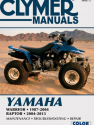 Yamaha Warrior (1987-2004) & Yamaha Raptor ATV (2004-2013) Service Repair Manual