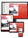Harley-Davidson Twin Cam 88 Haynes Online Manual covering Softail (2000 thru 2010), Dyna Glide (1999 thru 2010), and Electra Glide/Road King and Road Glide (1999 thru 2010)