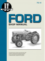 Ford Model NAA (Golden Jubilee) Tractor Service Repair Manual
