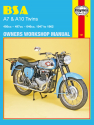 BSA A7 and A10 Twins (47-62) Haynes Repair Manual