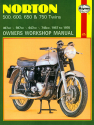 Norton 500, 600, 650 & 750 Twins (57-70) Haynes Repair Manual