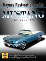 Ford Mustang Haynes Restoration Guide (64-1/2 thru 70) Haynes Repair Manual
