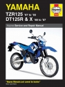 Yamaha TZR125 (87-93) & DT125R/X (88-07) Haynes Repair Manual