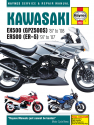 Kawasaki EX500A (87-93) and EX500D (94-08) Haynes Repair Manual