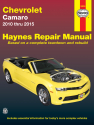Chevrolet Camaro 2010-2015 Haynes Repair Manual (USA)