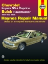 Chevrolet V8, Impala SS, Caprice & Buick Roadmaster (91-96) Haynes Repair Manual