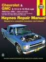 Chevrolet S-10 & GMC S-15 Gas Pick-ups (82-93) including S-10 Blazer & S-15 Jimmy (83-94) & Oldsmobile Bravada (91-94) Haynes Repair Manual