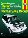 Dodge Caravan, Plymouth Voyager & Chrysler Town & Country inc. Grand Caravan (96-02) Haynes Repair Manual