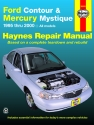 Ford Contour & Mercury Mystique (95-00) Haynes Repair Manual