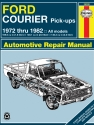 Ford Courier pick-ups (72-82) Haynes Repair Manual
