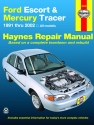 Ford Escort & Mercury Tracer (91-02) Haynes Repair Manual