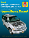 Ford pick-ups, Expedition & Lincoln Navigator covering 2WD & 4WD Gas F-150 (97-03), F-150 Heritage (04), F-250 (97-99), Expedition (97-17), & Lincoln Navigator (98-17) Haynes Repair Manual