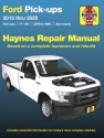 Ford Full-size F-150 2WD & 4WD Pick-ups (15-17) Haynes Repair Manual