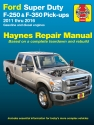 Ford  Super-Duty F-250 & F-350 Pick-ups (11-16) Haynes Repair Manual
