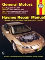General Motors FWD models Buick Regal (88-04), Chevrolet Lumina (1990-1994), Olds Cutlass Supreme (88-97), & Pontiac Grand Prix (88-07) Haynes Repair Manual
