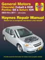 General Motors Chevrolet Cobalt (05-10) & HHR (06-11), Pontiac G5 (07-09) & Pontiac Pursuit (05-06) Haynes Repair Manual