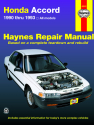 Honda Accord (90-93) Haynes Repair Manual