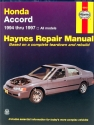 Honda Accord (94-97) Haynes Repair Manual