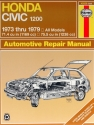 Honda Civic 1200 (73-79) Haynes Repair Manual