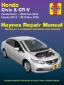 Honda Civic (12-15) & CR-V (12-16) Haynes Manual