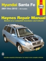 Hyundai Sante Fe (01-12) Haynes Repair Manual
