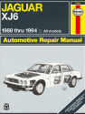 Jaguar XJ6, Vanden Plas & Sovereign (88-94) Haynes Repair Manual