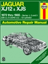 Jaguar XJ12 & XJS (inc. XJSC Cabriolet, Series 1,2 & 3) (72-85) Haynes Repair Manual