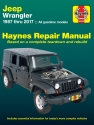 Jeep Wrangler 4-cyl & 6-cyl Gas Engine, 2WD & 4WD (87-17) Haynes Repair Manual