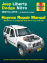 Jeep Liberty (02-12) & Dodge Nitro (07-11) Haynes Repair Manual