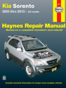 Kia Sorento (03-13) Haynes Repair Manual