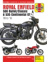 Royal Enfield 500 Bullet/Classic & 535 Continental GT (09-18) Haynes Repair Manual --COMING SOON--