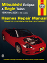 Mitsubishi Eclipse & Eagle Talon for Eclipse (95-05) & Talon (95-98) Haynes Repair Manual