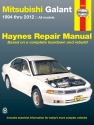Mitsubishi Galant (94-12) Haynes Repair Manual