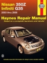 Nissan 350Z & Infiniti G35 (03-08) Haynes Repair Manual