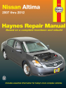 Nissan Altima (07-12) Haynes Repair Manual
