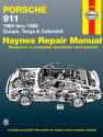 Porsche 911 (65-89) for Coupe, Targa & Cabriolet Haynes Repair Manual