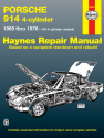 Porsche 914 4-cylinder (69-76) Haynes Repair Manual