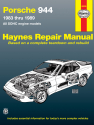 Porsche 944 4-cylinder (83-89) Haynes Repair Manual