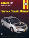 Saturn Ion (03-07) Haynes Repair Manual