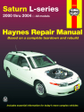 Saturn L-series (00-04) Haynes Repair Manual