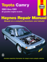 Toyota Camry with Gas Engine (83-91)  Haynes Repair Manual